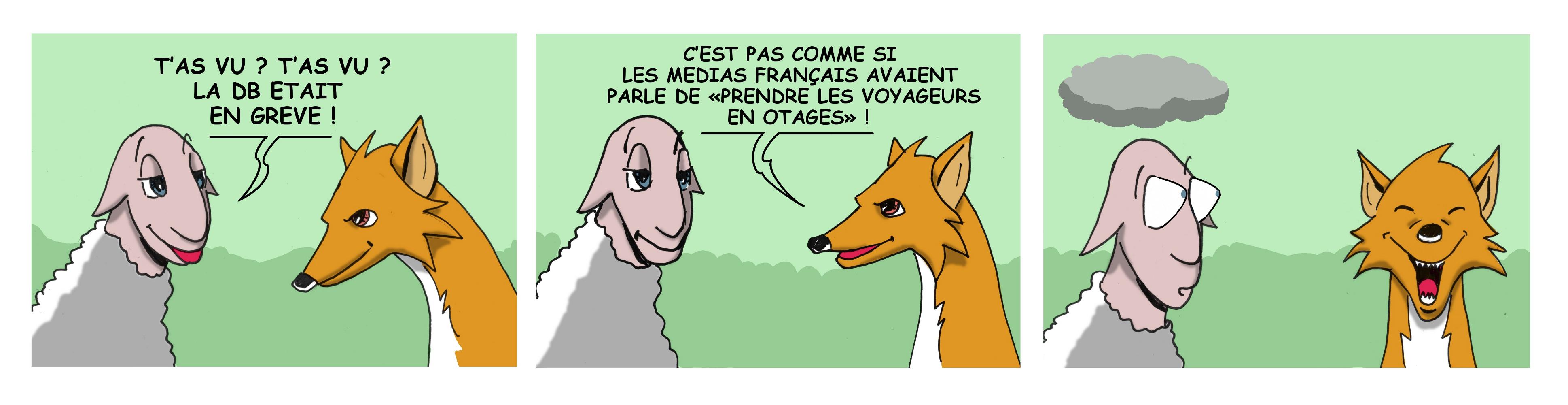 Bébête et Goupil croquent l'actualité